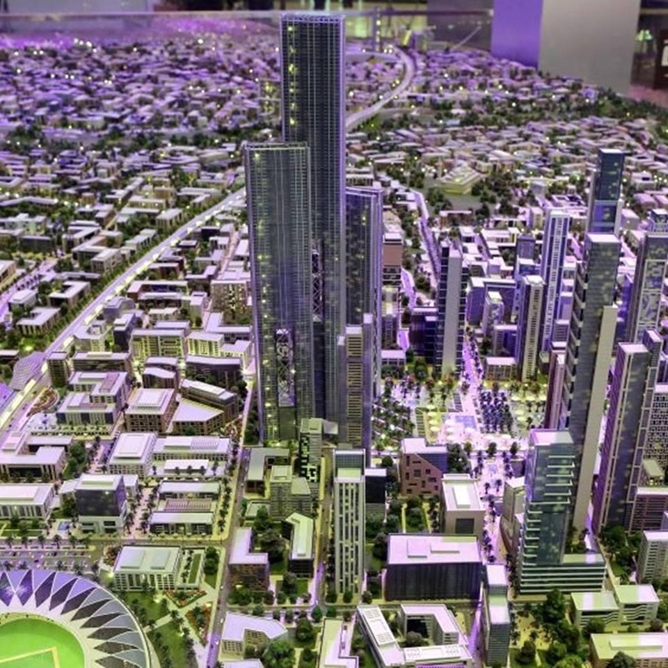 دوجا العاصمة الإدارية الجديدة