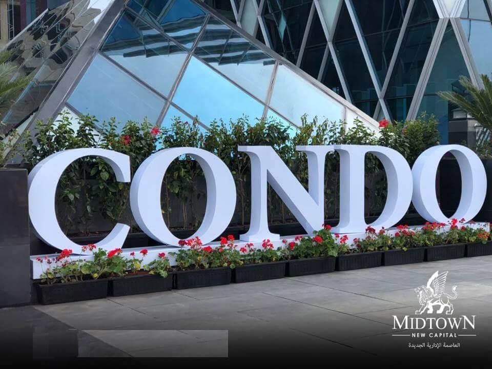 ميد تاون كوندو العاصمة الإدارية Mid Town Condo New Capital