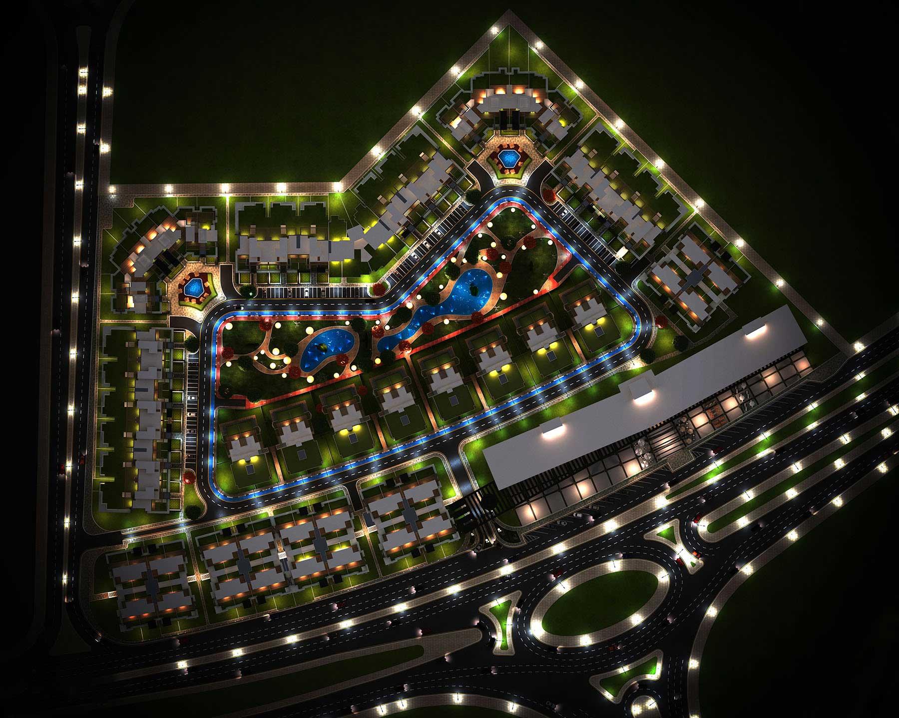 ميد تاون العاصمة سكاى الإدارية الجديدة